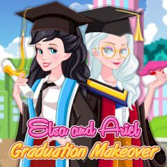 Elsa and Ariel Graduation Makeover
