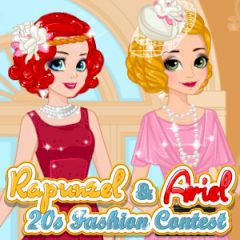 Rapunzel & Ariel 20s Fashion Contest