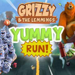 Grizzy & the Lemmings Yyummy Run!