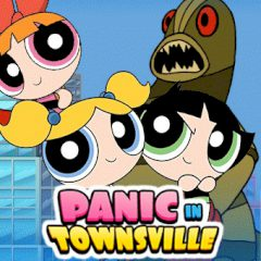 The Powerpuff Girls Panic in Townsville