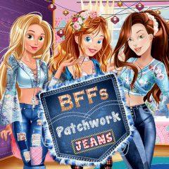 BFFs Patchwork Jeans