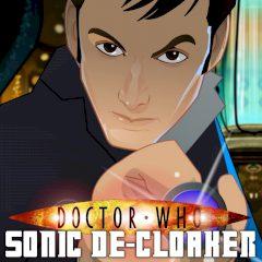 Doctor Who Sonic De-cloaker