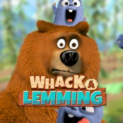 Grizzy & the Lemmings Whack a Lemming