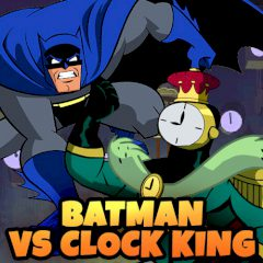 Batman vs Clock King