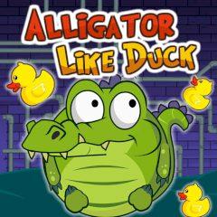 Alligator like Duck