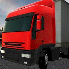 Semi Driver Trailer Parking 3D