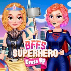 BFFs Superhero Dress up