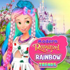 Modern Rapunzel Rainbow Trends