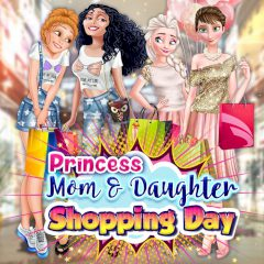 Princesses Mom & Daughter Shopping Day