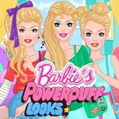 Barbie's Powerpuff Girls