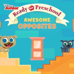 Ready for Preschool Awesome Opposites