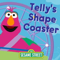 Sesame Street Telly's Shape Coaster