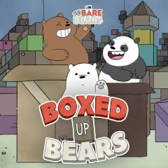 We Bare Bears Boxed up Bears