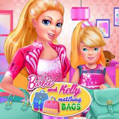 Barbie and Kelly Matching Bags