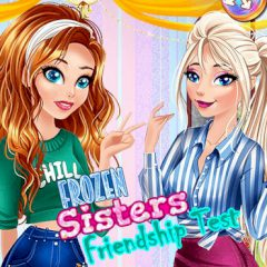 Frozen Sisters Friendship Test