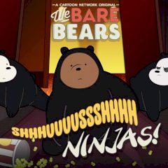 We Bare Bears Shush Ninjas