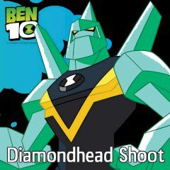 Ben 10 Diamondhead Shoot