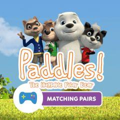 Paddles! The Huggable Polar Bear Matching Pairs