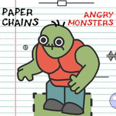 Paper Chains: Angry Monsters