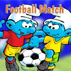 The Smurfs Football Match
