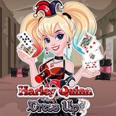 Harley Quinn Dress up