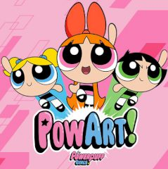 The Powerpuff Girls PowArt!