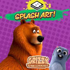 Grizzy & the Lemmings Splash Art!
