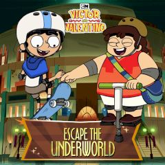 Victor and Valentino Escape the Underworld