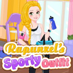 Rapunzel's Sporty Outfit
