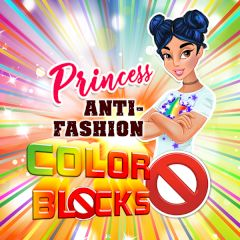 Princess Anti-Fashion Color Blocks
