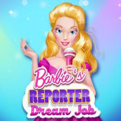 Barbie's Reporter Dream Job