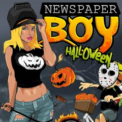 Newspaper Boy Halloween