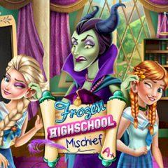 Frozen Highschool Mischief