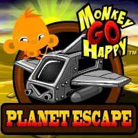 Monkey Go Happy Planet Escape