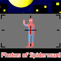 Photos of Spiderman!