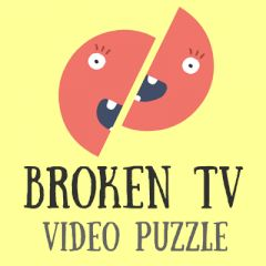 Broken TV Video Puzzle