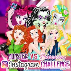 Monster vs Princesses Instagram Challenge