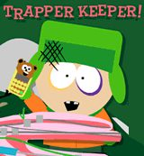 South Park. Trapper Keeper