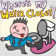 Where's my Water Closet?