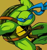 Turtles Ninja. Sewer Surf
