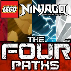 LEGO Ninjago The Four Paths