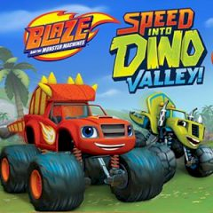 Blaze and the Monster Machines: Speed into Dino Valley!