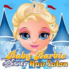 Baby Barbie Disney Hair Salon