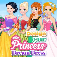 Design Your Princess Dream Dress