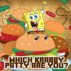 Which Krabby Patty are You?