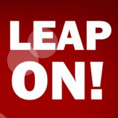 Leap on!