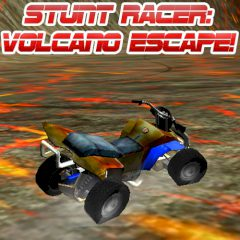 Stunt Racer: Volcano Escape!