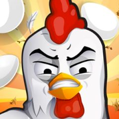 Angry Chicken Egg Madness HD