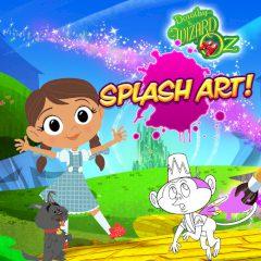 Dorothy and the Wizard of Oz Splash Art!