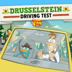 Phineas and Ferb Drusselstein Driving Test